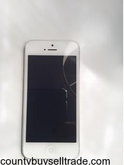 iPhone 5 White 32 GB, like new